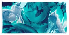 Roses #4 Beach Sheet