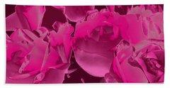 Roses #5 Beach Sheet