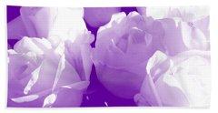 Roses #7 Beach Sheet
