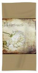 Roses Beach Sheet by Carolyn Marshall
