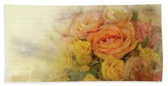Roses For Mother's Day Beach Sheet by Eva Lechner