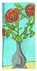 Roses R Red Beach Towel