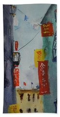 Ross Alley6 Beach Towel by Tom Simmons