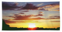 Rossington Sunset 2 Beach Towel