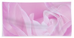 Rosy Cheek Pink Beach Sheet by Janice Westerberg