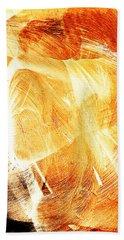 Rotational Embrace Beach Sheet by Andrea Barbieri