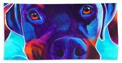 Rottweiler - Dexter Beach Towel