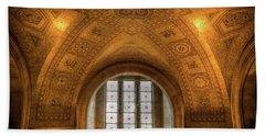 Rotunda Ceiling Royal Ontario Museum Beach Towel