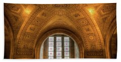 Rotunda Ceiling Royal Ontario Museum Beach Sheet