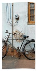 Rough Bike Beach Towel