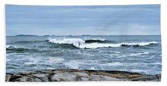 Rough Seas 2 Beach Sheet