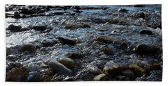 Rough Waters Beach Towel