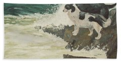 Roughsea Beach Towel by Terry Frederick