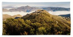 Round Mountain Lookout Beach Towel