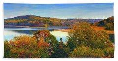 Round Valley State Park 4 Beach Sheet by Raymond Salani III
