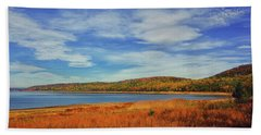 Round Valley State Park Beach Towel