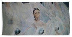 Roundelay. Ballet Dancers Beach Towel