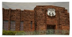 Route 66 Museum Beach Towel