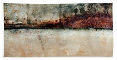 Beach Towel featuring the photograph Route To Dead Mans Island by Jani Freimann