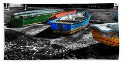 Row Boats At Mudeford Beach Sheet