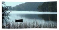 Rowboat On Muckross Lake Beach Sheet