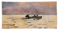 Rowing Home Beach Towel