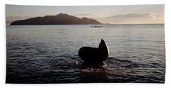 Rowing Off Sausalito, Ca Beach Sheet