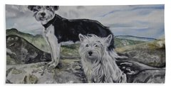 Roxie And Skye Beach Towel