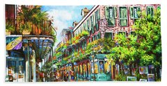 Royal At Pere Antoine Alley, New Orleans French Quarter Beach Towel