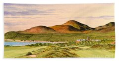 Royal County Down Golf Course Beach Towel