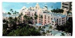 Royal Hawaiian Hotel  Beach Towel