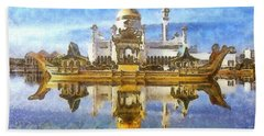 Royal Mosque  Beach Towel