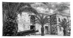 Beach Sheet featuring the photograph Royal Navy Dockyard Fort - Bermuda by Luther Fine Art