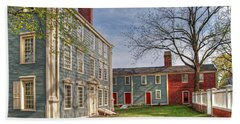 Royall House And Slave Quarters Beach Sheet