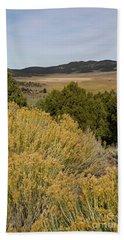Rt 72 Utah Beach Towel by Cindy Murphy - NightVisions