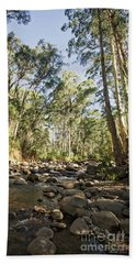 Beach Towel featuring the photograph Rubicon River by Linda Lees