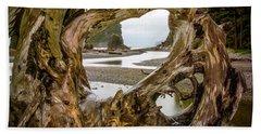 Ruby Beach Driftwood 2007 Beach Towel