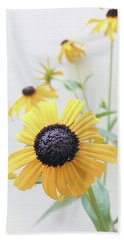 Beach Sheet featuring the photograph Rudbeckia 1 by Cindy Garber Iverson