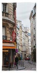 Rue Dante Paris Beach Towel