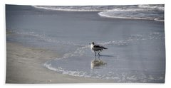 Ruffled Feathers Beach Sheet