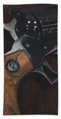 Ruger 44 Magnum Super Blackhawk Revolver Beach Towel