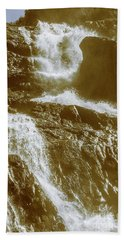 Rugged Water Rapids Beach Towel
