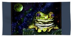 Ruler Of The Cosmos  Beach Towel by Hartmut Jager