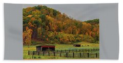 Rural Beauty In Ohio  Beach Sheet
