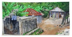 Rural Haiti - A Study In Poignancy Beach Towel