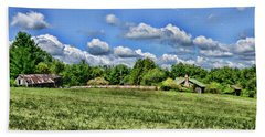 Beach Towel featuring the photograph Rural Virginia by Paul Ward