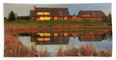 Rush Creek Golf Course Reflections Beach Towel
