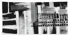 Rush Hour- Art By Linda Woods Beach Towel