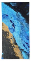 Rush Triptych 3 Beach Towel