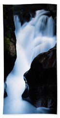 Rushing Through The Rocks Beach Towel